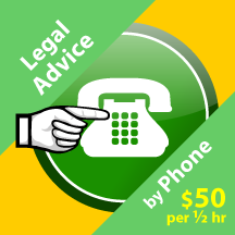Purchase Legal Advice by Phone