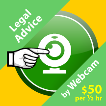 Purchase Legal Advice by Webcam